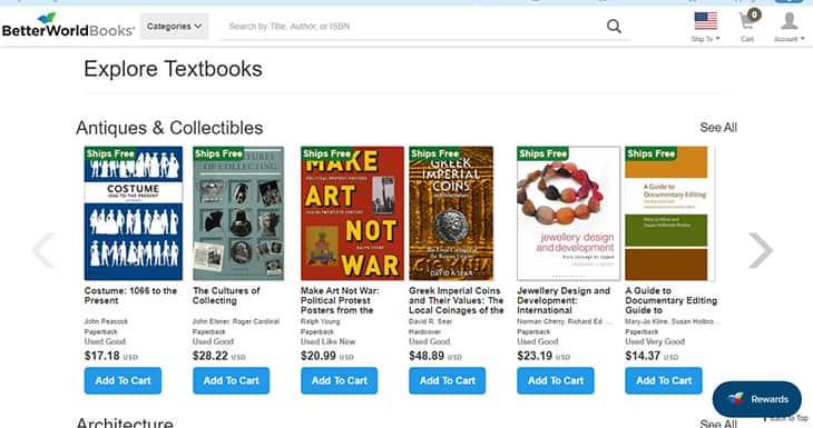 BetterWorldBooks Cheap textbooks